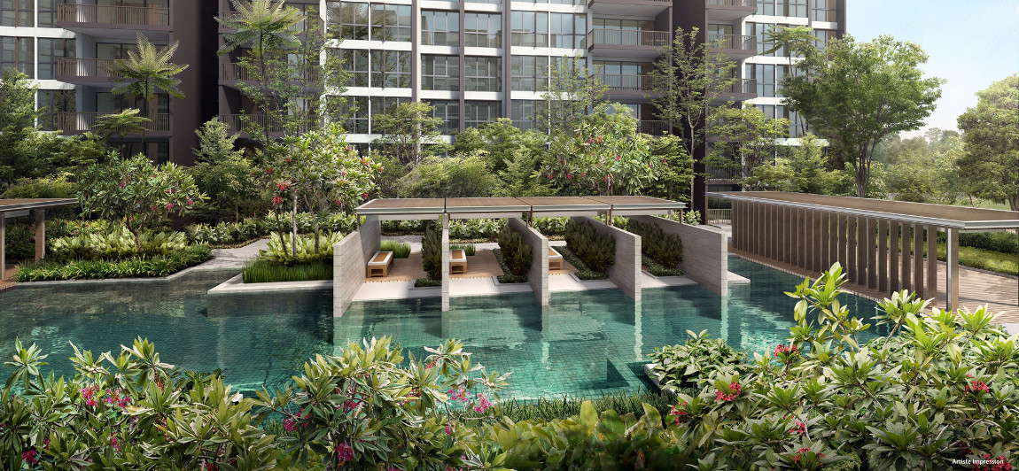 Bellewoods EC by Qingjian . Developer for the Visionaire EC Singapore